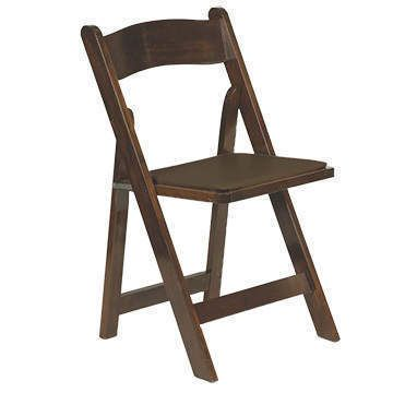 Dark Wood Folding Chairs For Ceremony If Their Staff Can T Reuse