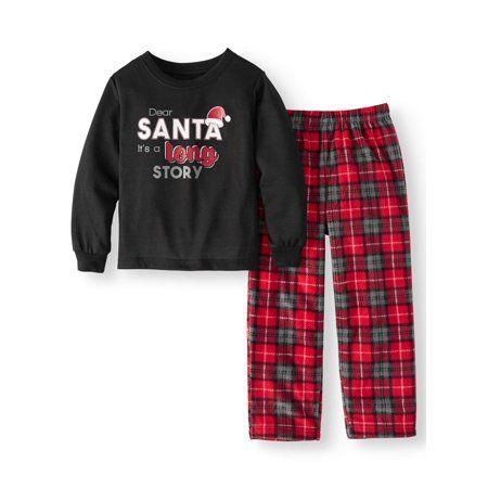 3b9cbf74df Family PJs Holiday Family Sleep Plaid Santa Pajamas