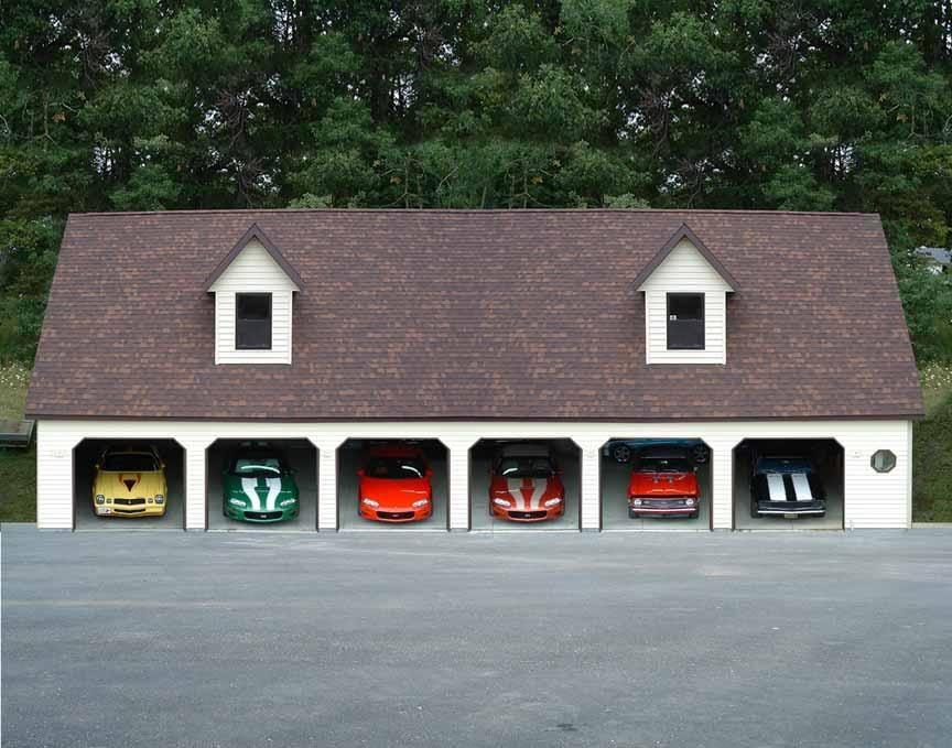 Le garage dream garage cars and garage shop for 6 car garage for sale