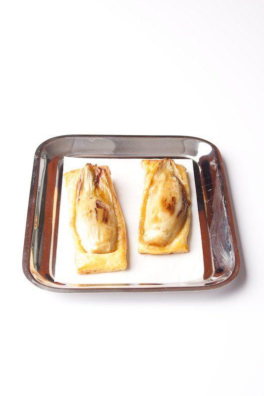 Gekaramelliseerde witlofcarree - Gastronomixs