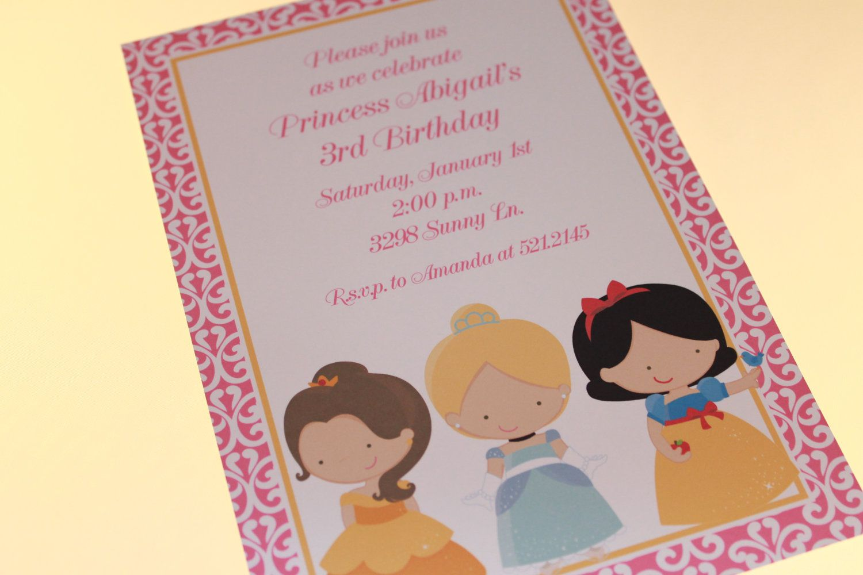 Princess Birthday Invitations.   Birthdays   Pinterest   Imprimibles ...
