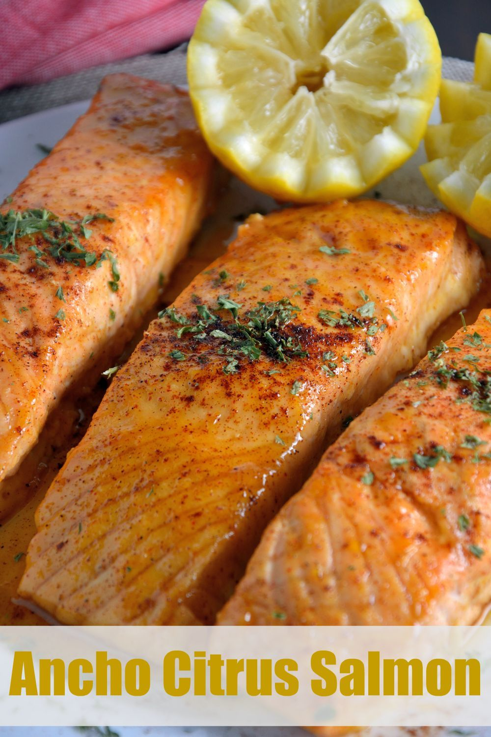Ancho citrus salmon recipe healthy salmon recipe that uses orange ancho citrus salmon recipe healthy salmon recipe that uses orange juice as the base and gets a little kick from ancho chile this easy baked salmon can be forumfinder Gallery