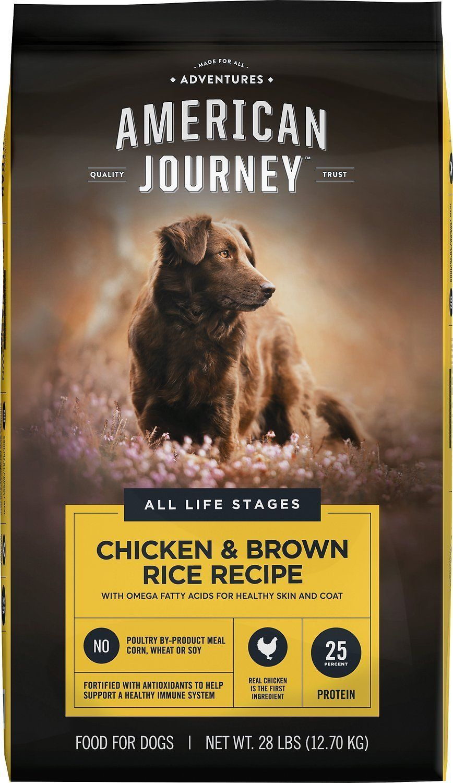28 lbs x2 american journey dog food 1 lb free treats