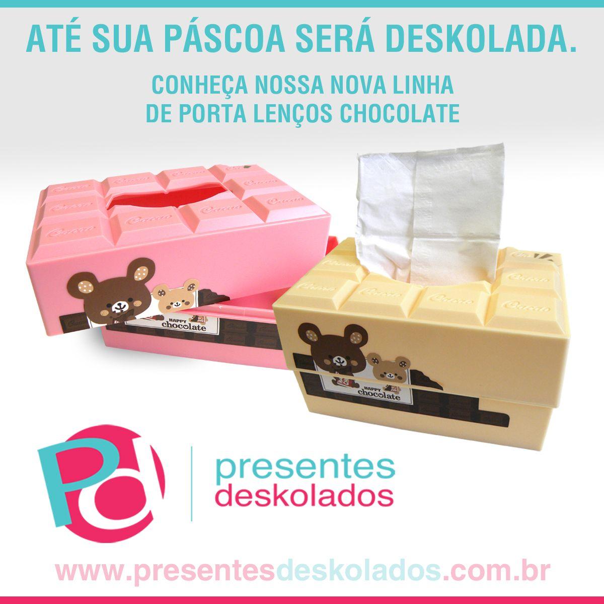 Boa Tarde galera deskolada!!! A Páscoa vai ficar mais deskolada!!! #coelhinhodapáscoa !!! Deskola lá no site: www.presentesdeskolados.com.br