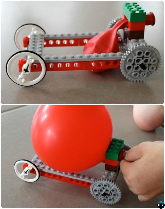 Balloon Powered Lego Car Instructions 20 Indoor Kids Activities