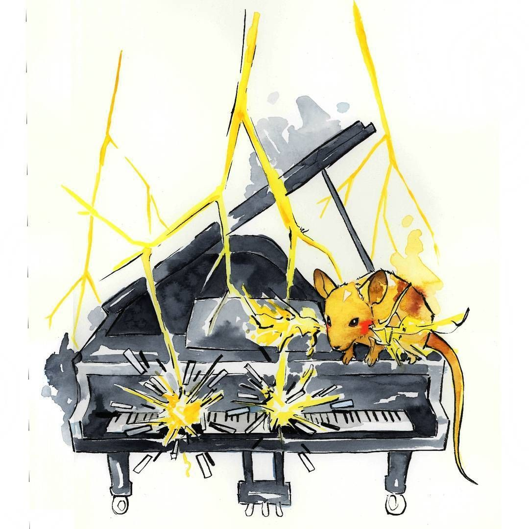 Starter Pokemon Pianists by TangsprellArt -