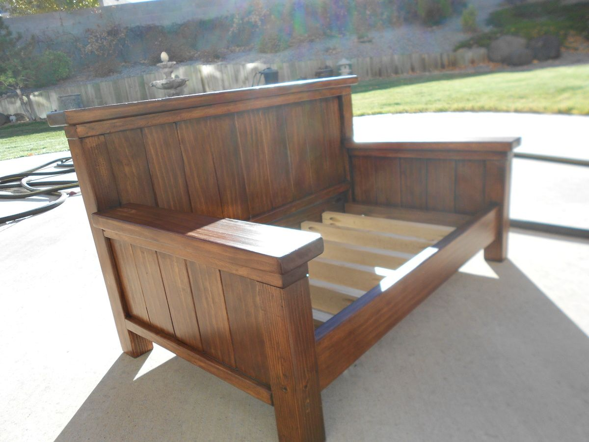 - Doggie Daybed Ana White Diy Daybed, Wooden Daybed, Wood Daybed