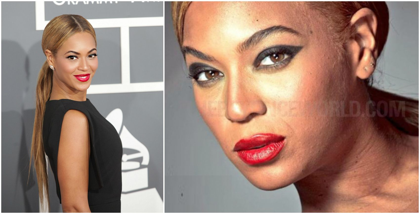 Beyonce without photoshop