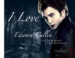 edward cullen, dont worry edward ill always be on your side!!