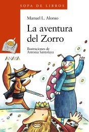 Portada de La aventura del Zorro