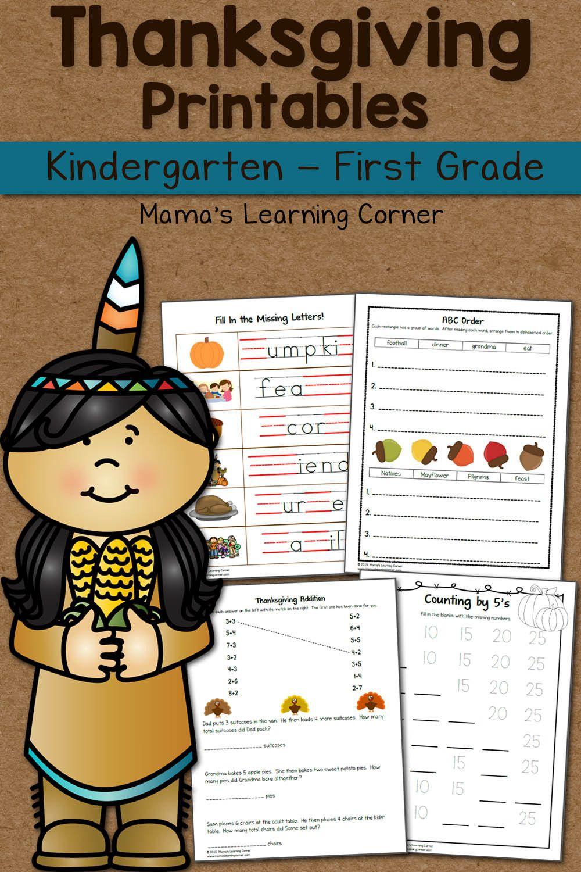 1st Grade Thanksgiving Worksheets Thanksgiving Activities For Kindergarten Thanksgiving Worksheets Thanksgiving Activities Preschool [ 1500 x 1000 Pixel ]
