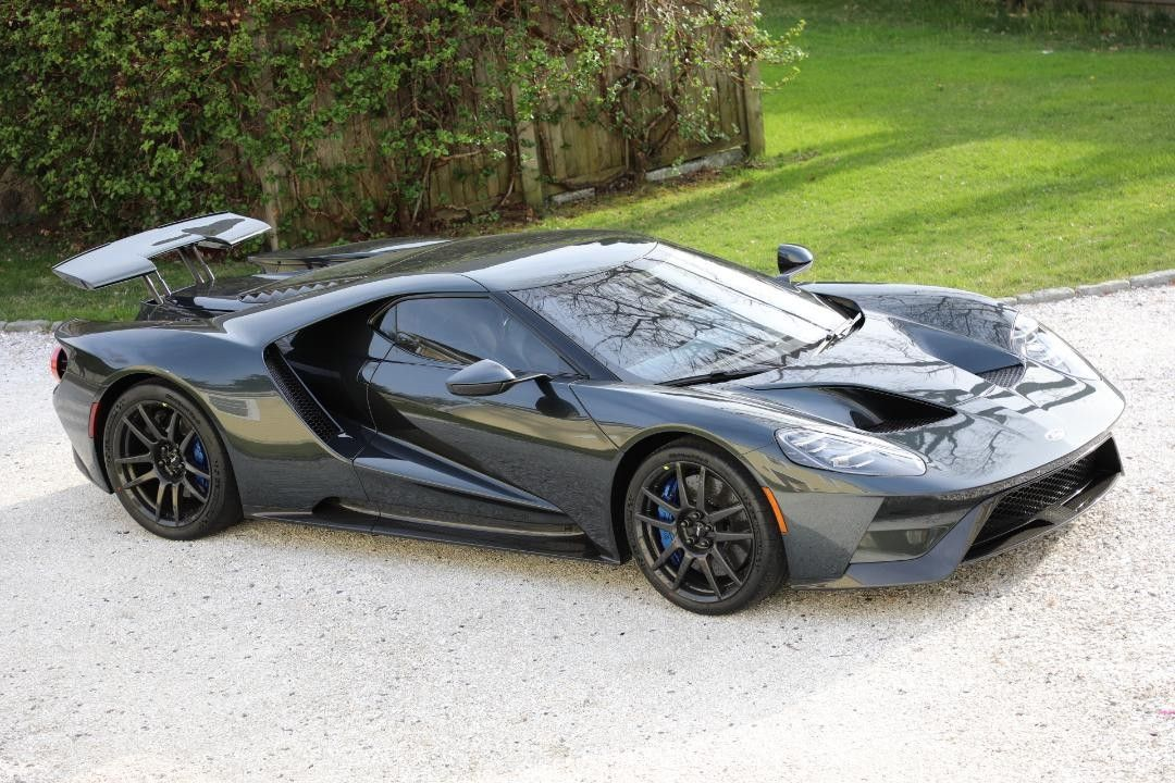Ford Gt Dark Graphite Charcoal Ford Gt Car Ford Mercury Cars
