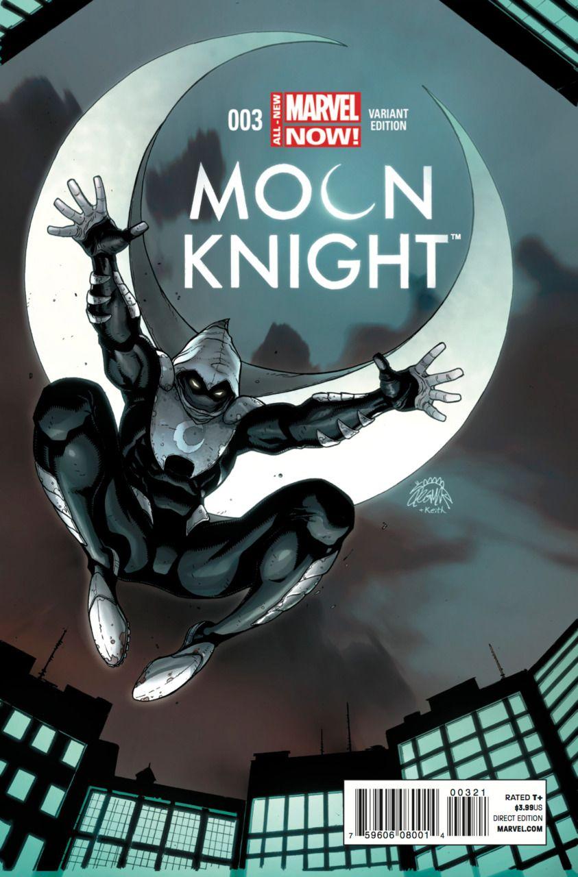 Moon Knight Vol. 6 # 3 (Variant) by Ryan Stegman