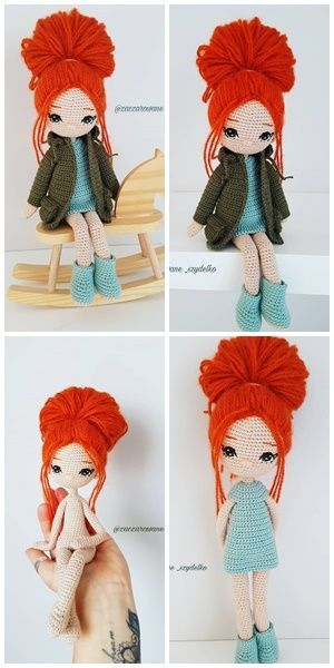 The Most Beautiful Amigurumi Doll Free Crochet Patterns - Amigurumi Patterns - A #amigurumidoll