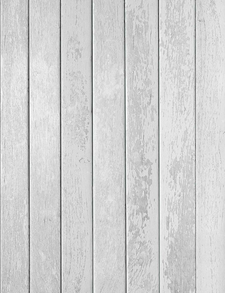 Old White Printed Wood Floor Texture Backdrop For
