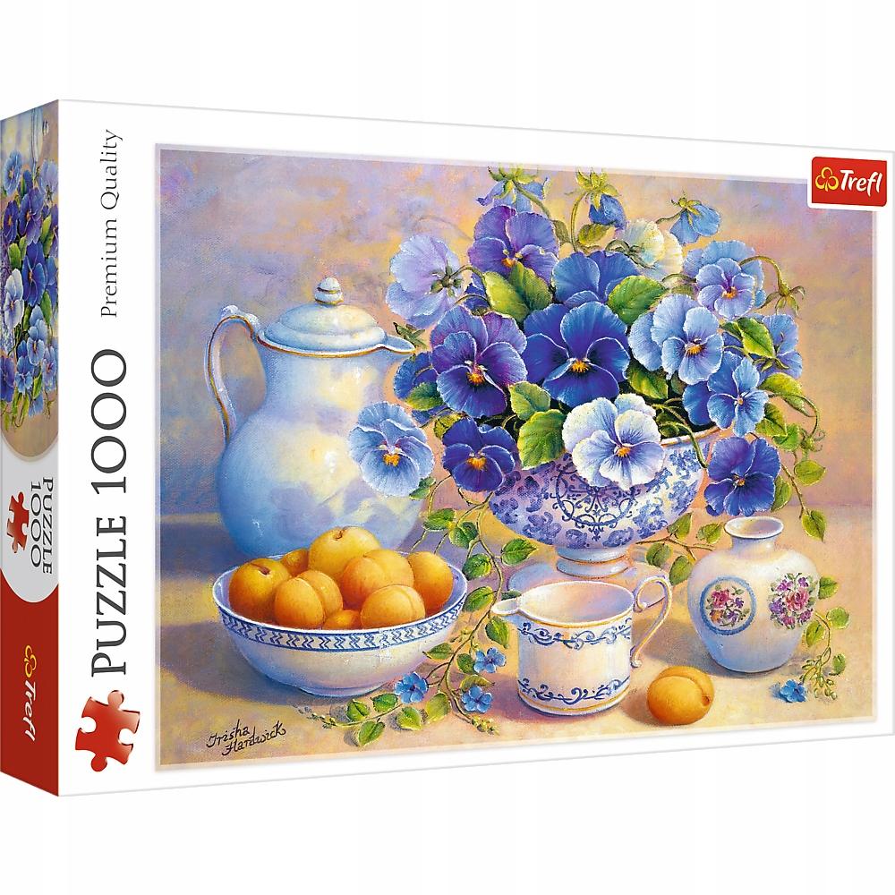 Kup Teraz Na Allegro Pl Za 39 90 Zl Puzzle 1000 Niebieski Bukiet Trefl 9194099573 Allegro Pl Radosc Zakupow I Bezpieczenstwo Blue Bouquet Puzzle Bouquet
