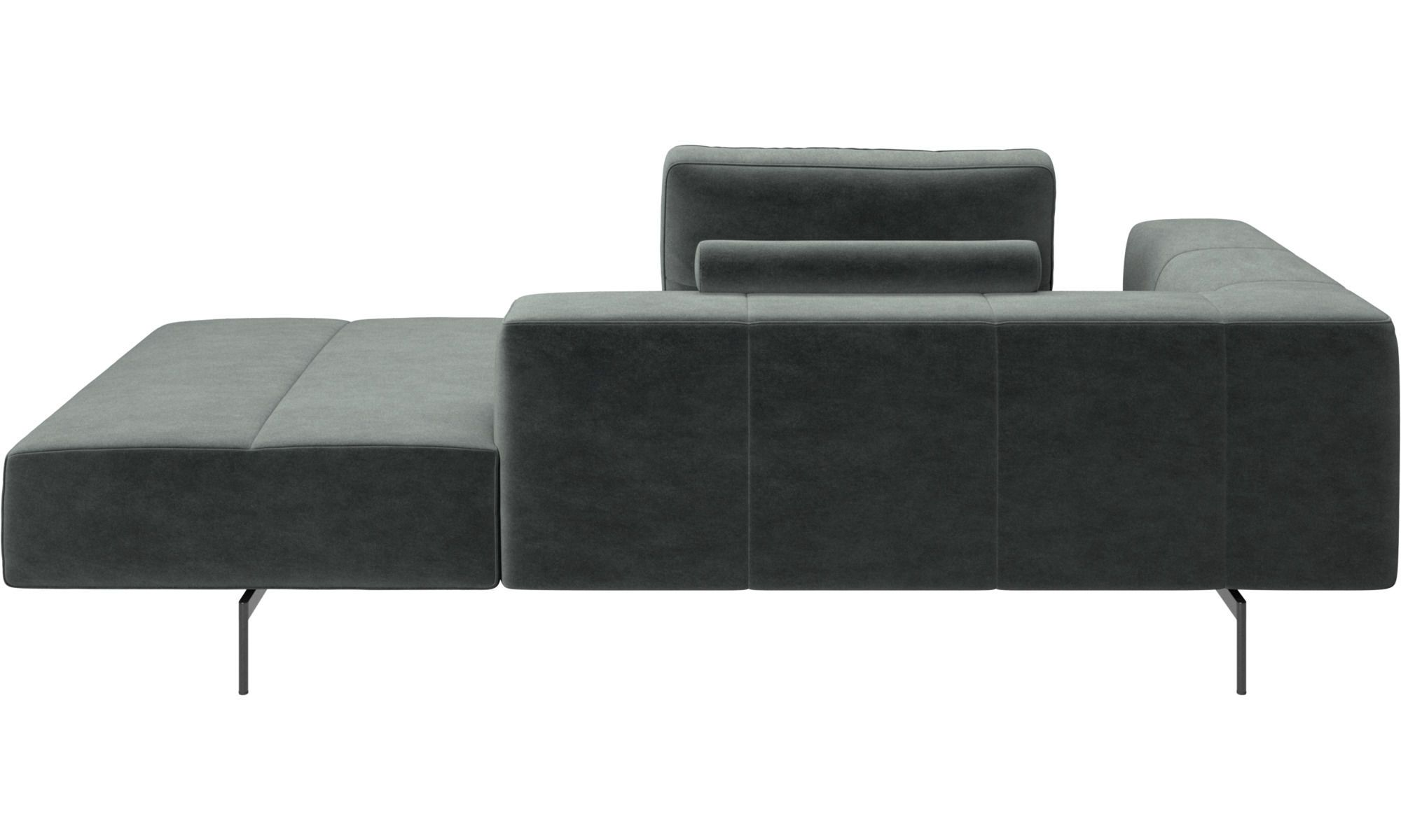 Modular Sofas Amsterdam Iounging Module For Sofa Armrest Left Open End Right Sofa Sectional Couch Chaise Longue