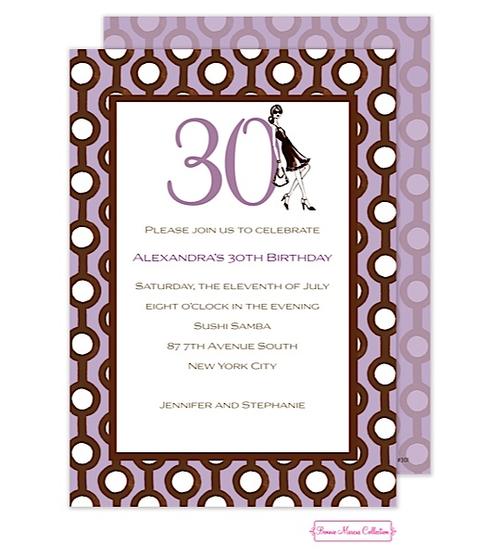 Бессплатно, пригласительные на день рождения 30 лет шаблоны