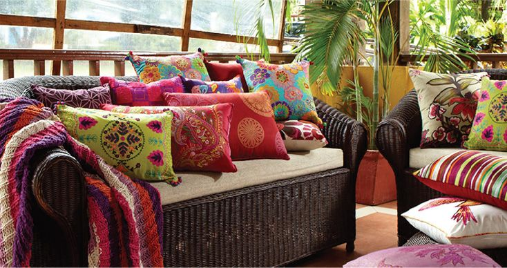 Love these cushions!!! Kush Living - contemporary homewares - outdoor christmas decorations wholesale