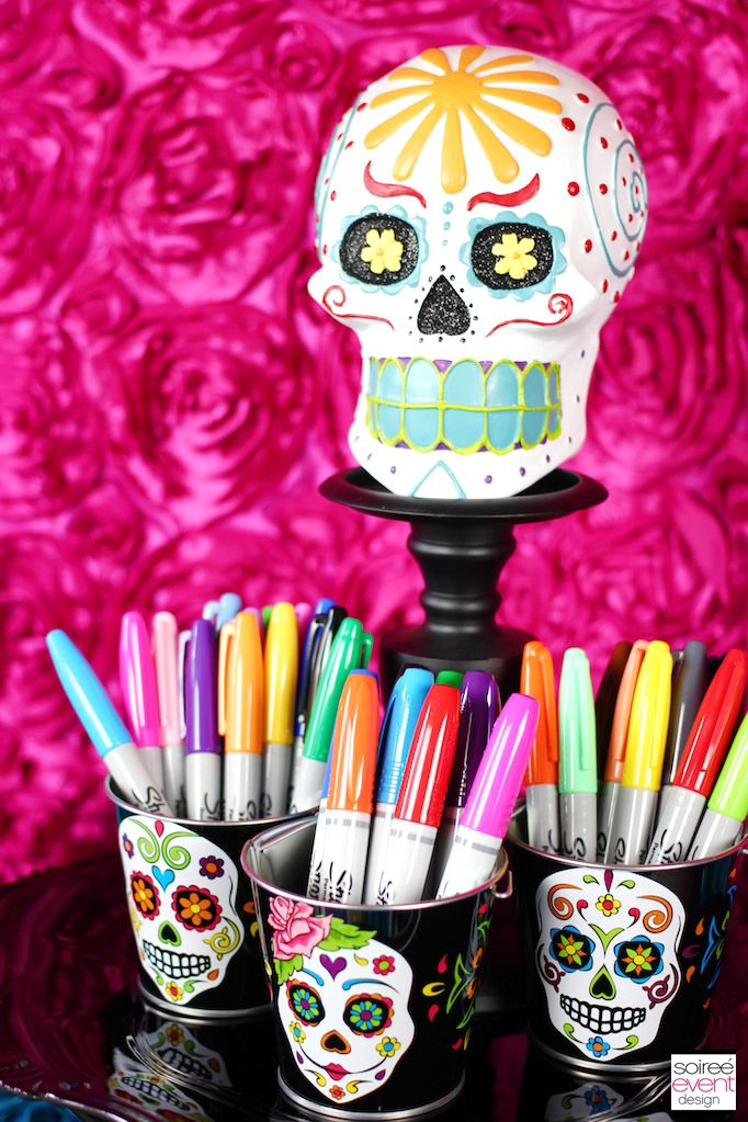 Decorate Your Own Halloween Day Of The Dead Sugar Skulls Sugar