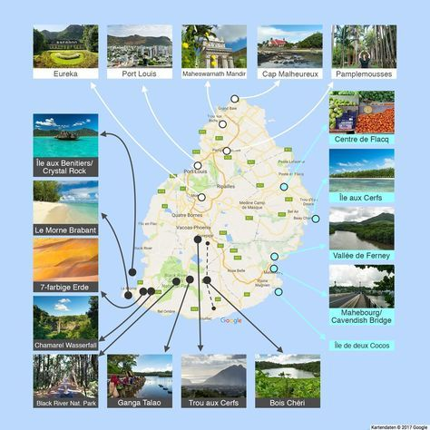 Mauritius pronounced Marishus A small island country off the