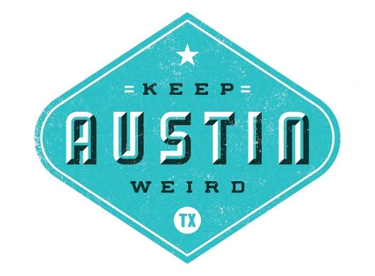Keep Austin Weird Project Based Learning Lettering Weird