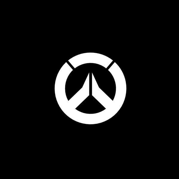 Overwatch Logo Decal Sticker White Black Roadhog Lucio Junkrat Dva 052 Overwatch Overwatch Wallpapers Logos