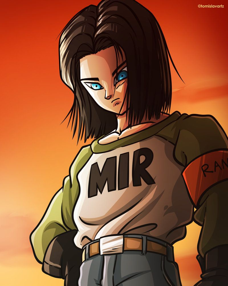 Android 17 Dragon Ball Super Fan Art By Tomislavartz Dragon Ball