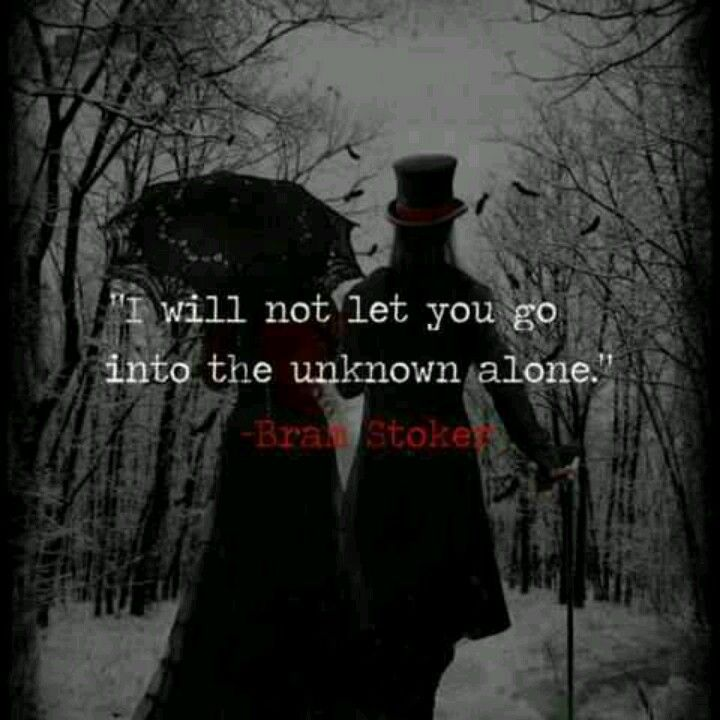 Quoted – Bram Stoker
