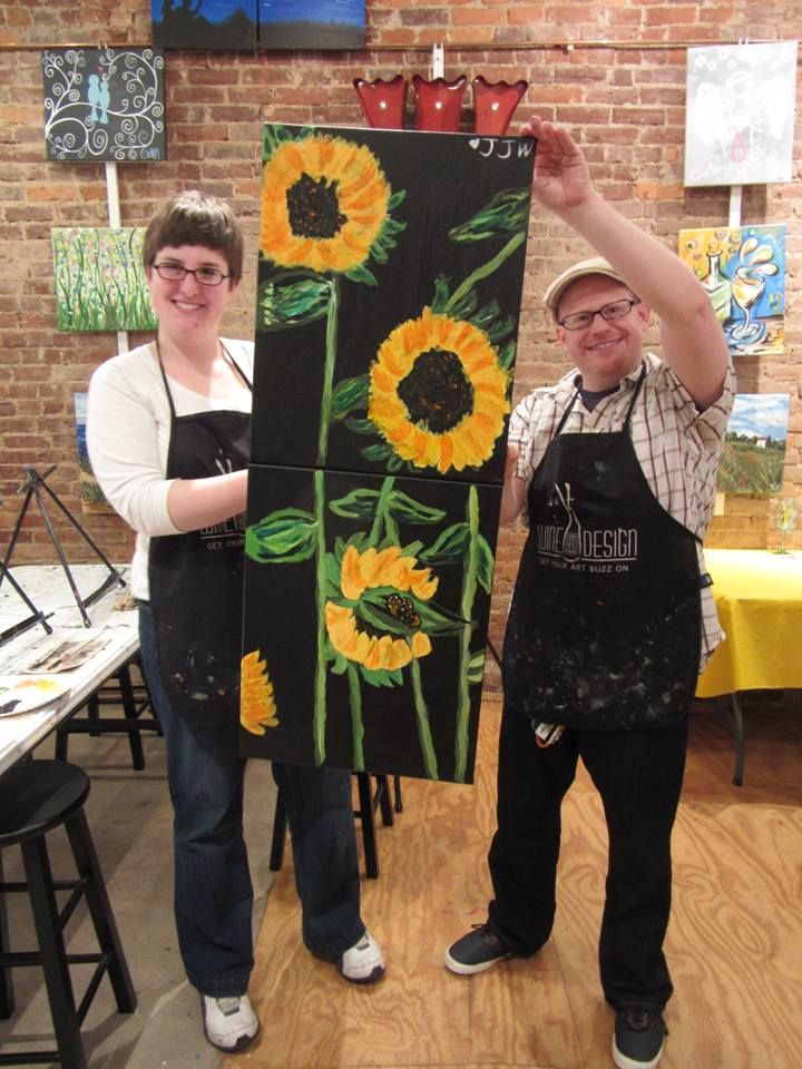 Sunflower Date Night
