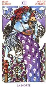 Death Tarot Card (la morte)