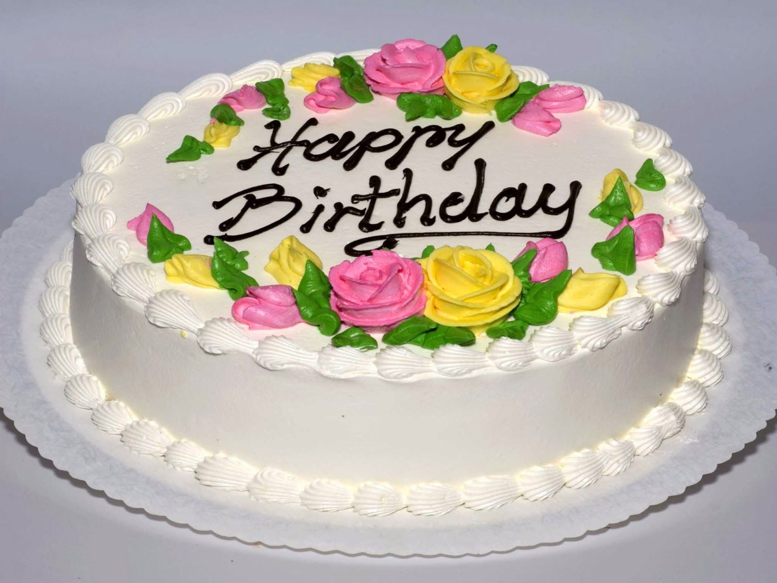 Superb Cake Pics Hd Yahoo Image Search Results Happy Birthday Flower Personalised Birthday Cards Veneteletsinfo
