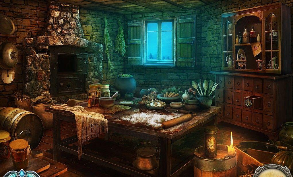 Witch Cottage Interior Novocom Top