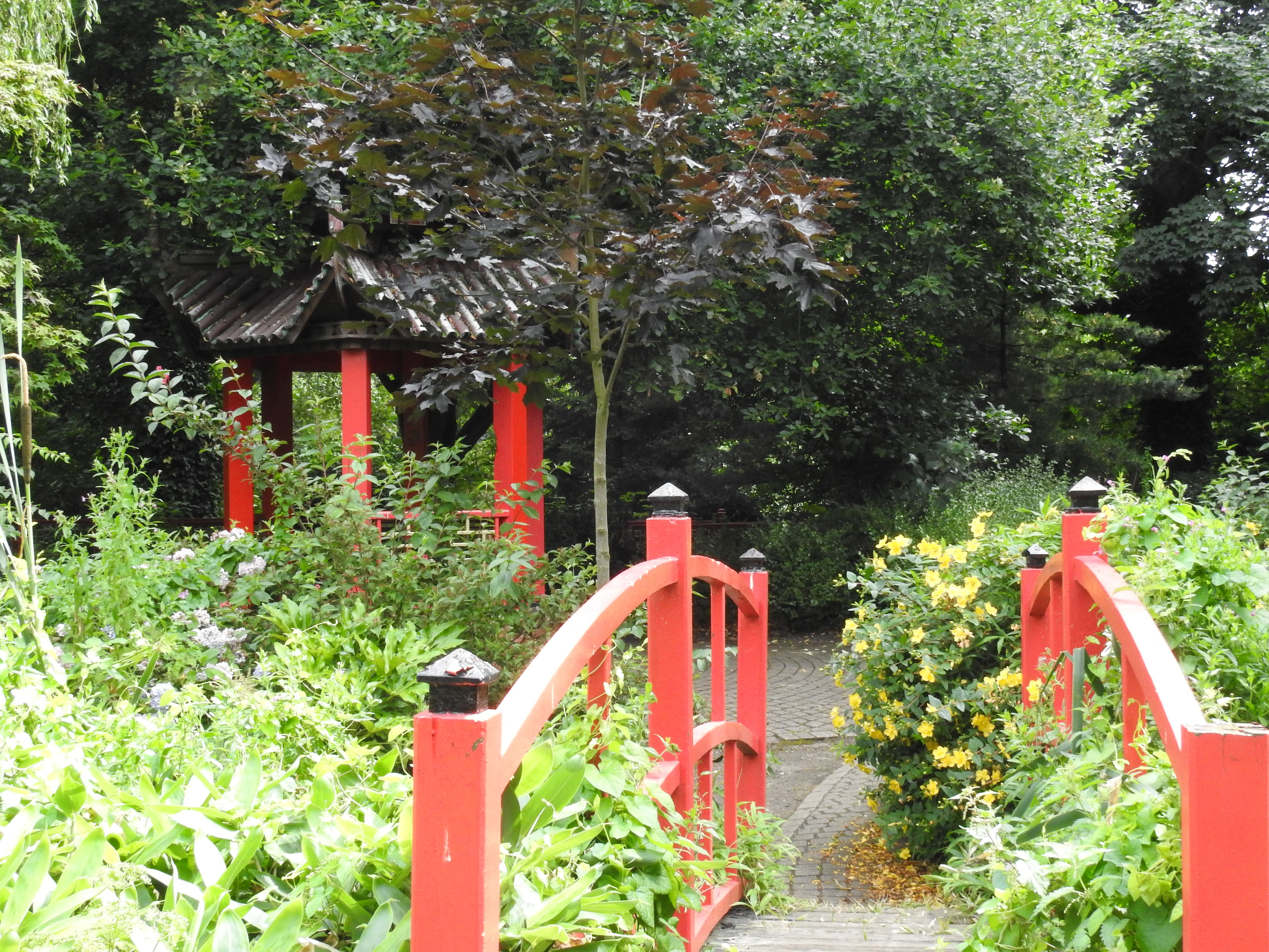The Japanese Garden, Abbey Park, Leicester