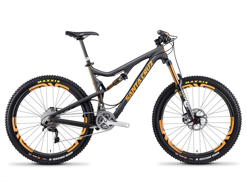 bca89915660 Santa Cruz Bronson - 650B Enduro Racer in Carbon and Aluminum