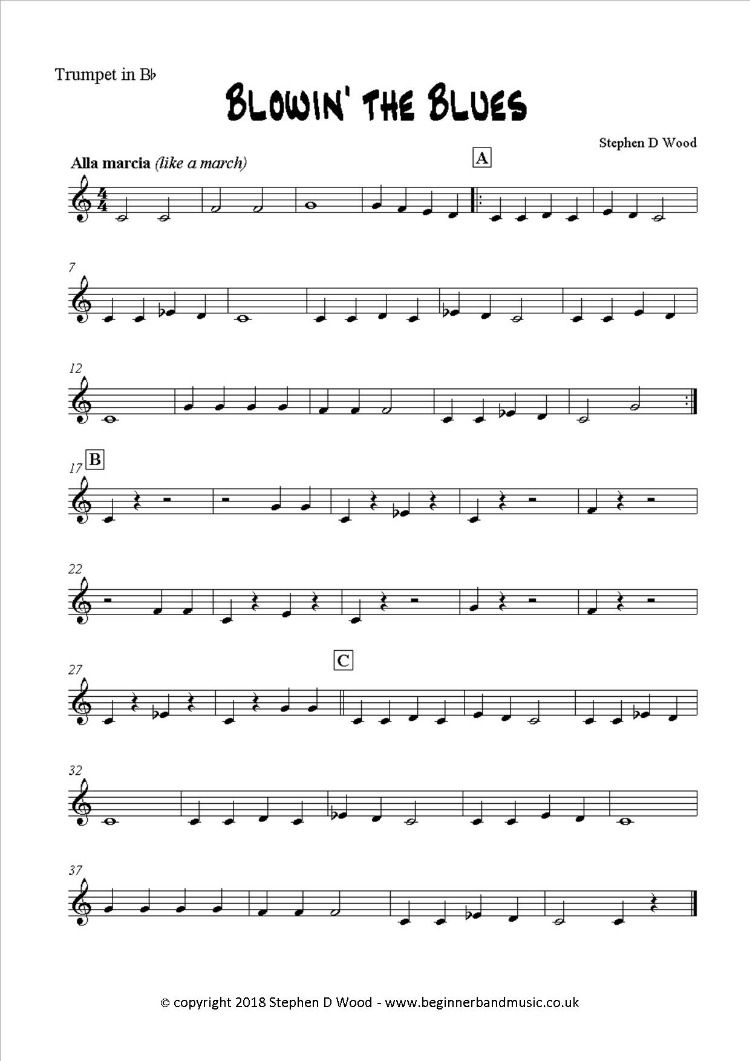 music for beginner wind band playable with flute, clarinet and trumpet |  trumpet music, instrumentalist, beginners  pinterest