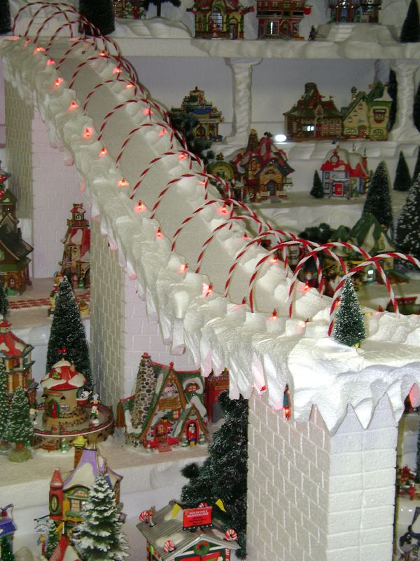 North Pole Village Display - Hot Wire Foam Factory