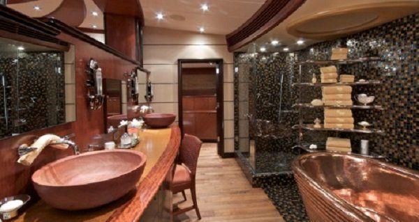 Master Bathroom On Michael Jordan S Yacht Michael Jordan