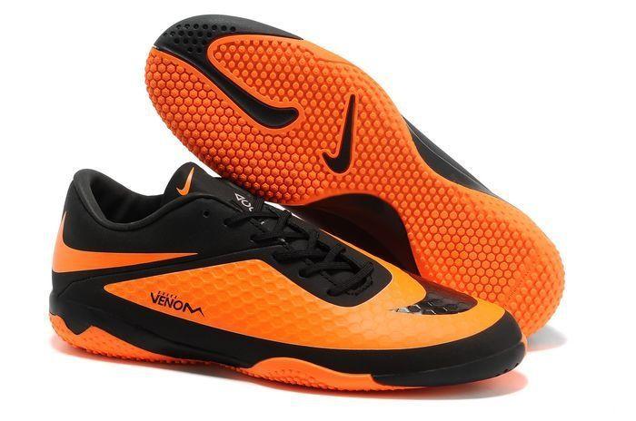 best service ff486 776e1 Nike HyperVenom Phantom IC Boots Orange Black Citrus