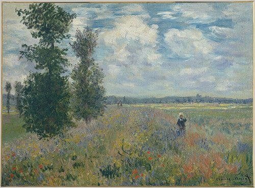 Poppy Field, Argenteuil, 1875  Claude Monet (French, 1840–1926)