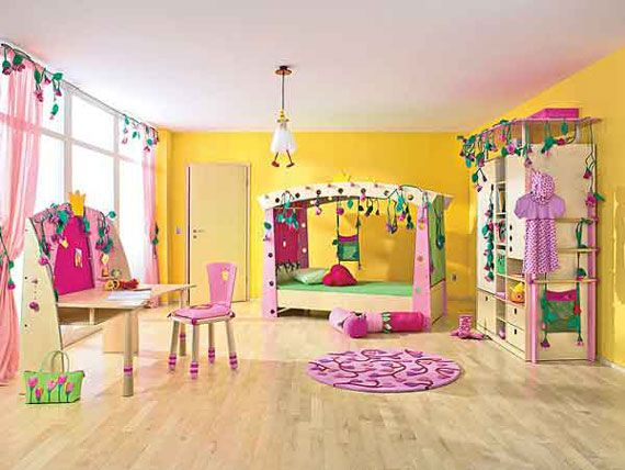 Captivating Bright Yellow And Aqua Colors For Teens Bedroom | Dynamic Yellow Teen  Bedroom Interior Decorating Ideas