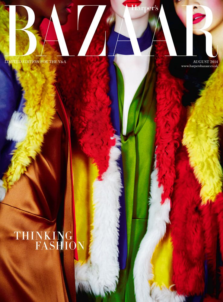 Erik Madigan Heck's Limited Edition Harper's Bazaar cover for the V&A Museum