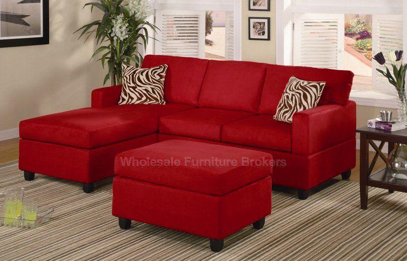 Best Awesome Modern Minimalist Red Sofas Zebra Cushion Decor 400 x 300