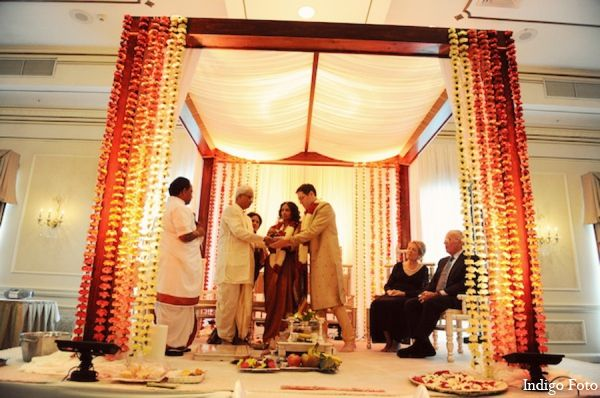 A Bride And Groom Marry In An Indian-Jewish Fusion
