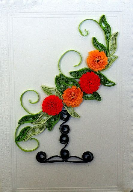 Pin By M L On Quilling Flowers Quilling Cards Quilling