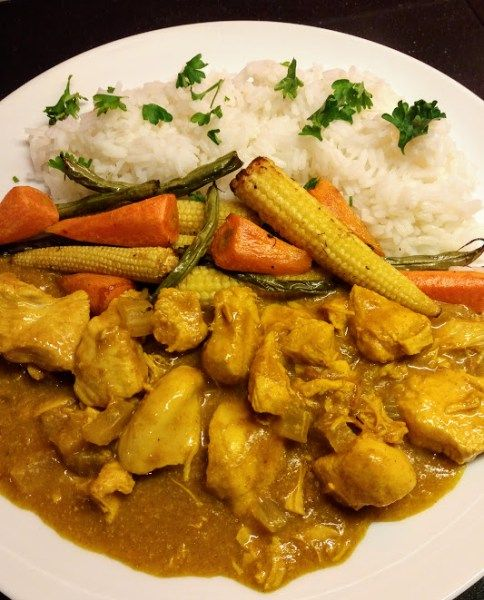 Chicken Curry In A Hurry One Yummy Mummy Curry In A