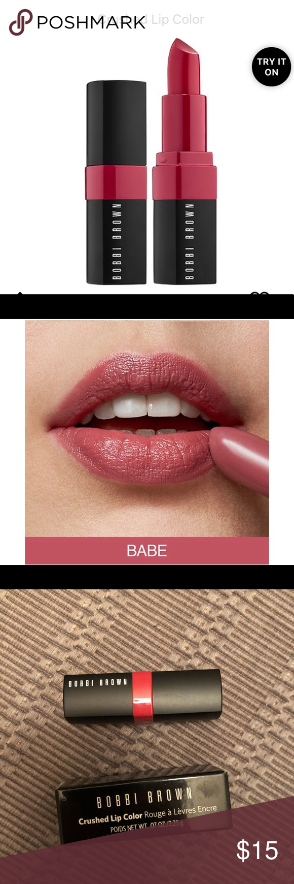 Bobbi Brown Crushed Lip Color In Babe Mini Size Bobbi Brown