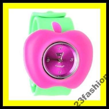 Zegarek Damski Golddigga Apple Jelly Watch Hit 3645253777 Oficjalne Archiwum Allegro Apple Jelly Watches Pink And Green