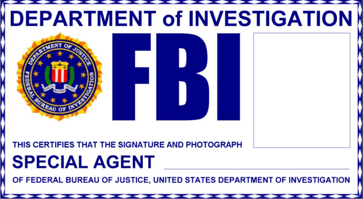 Fbi Badge   Pinteres