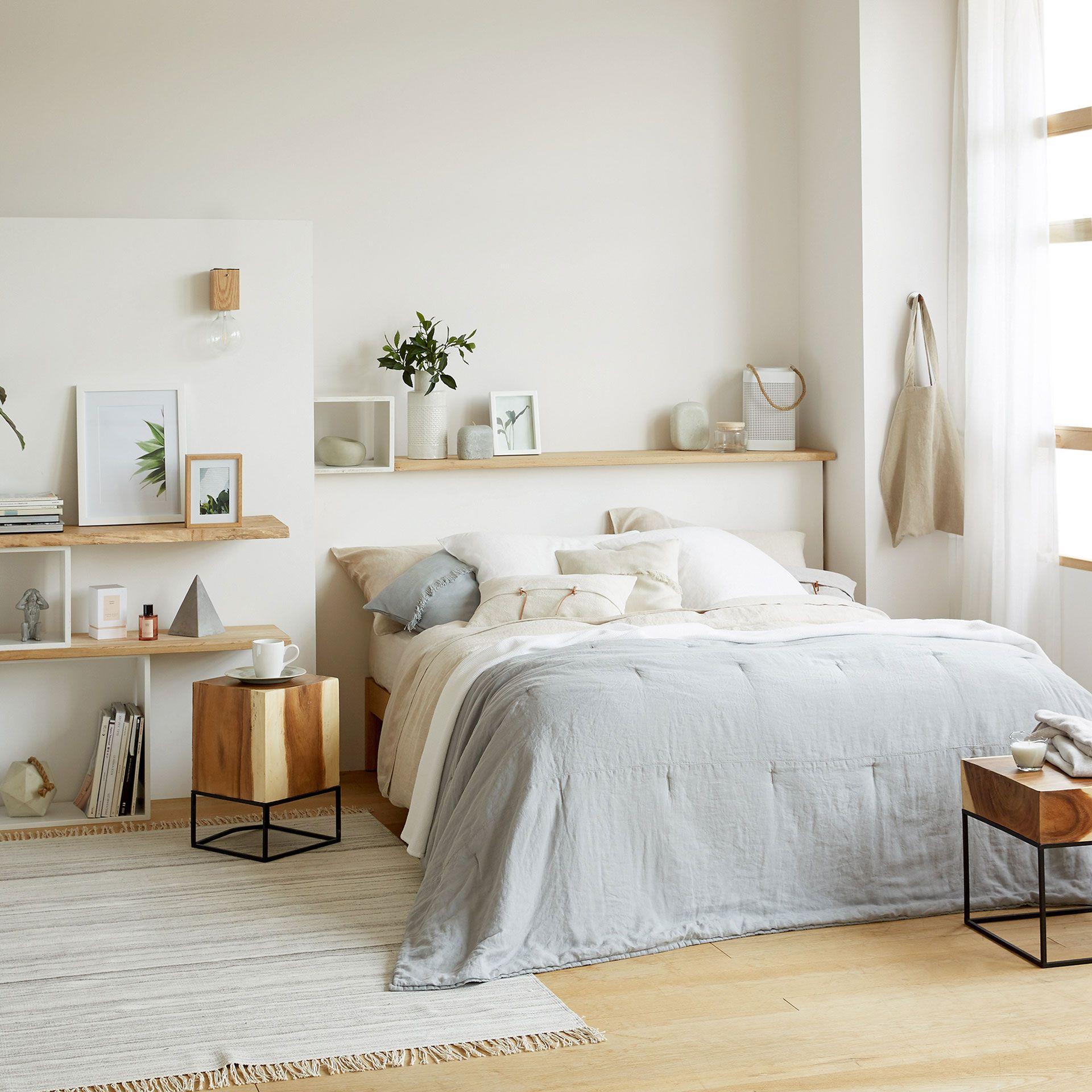Bild 1 des Produktes Quilt und Kissenbezug aus gewaschenem